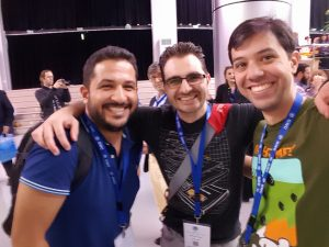 Manuel Pimenta, Bernardo Letayf and Rob Alvarez at GWC16