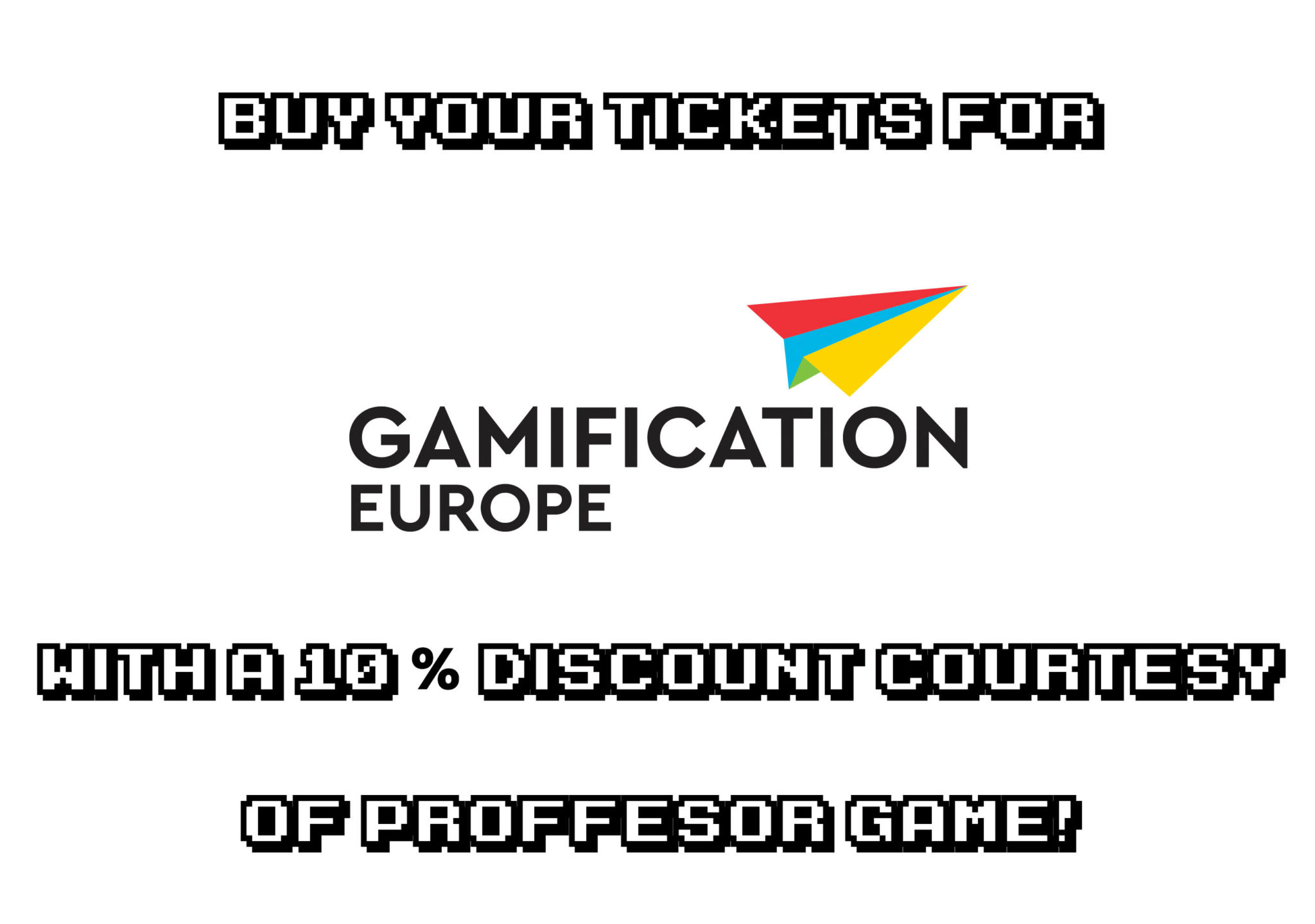 Come to Gamification Europe 2018 with a discount