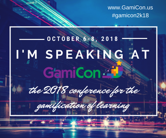 Let's meet at GamiCon '18 in Chicago!