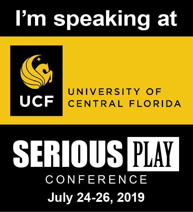Will we meet at Serious Play Conference 2019 in Orlando?