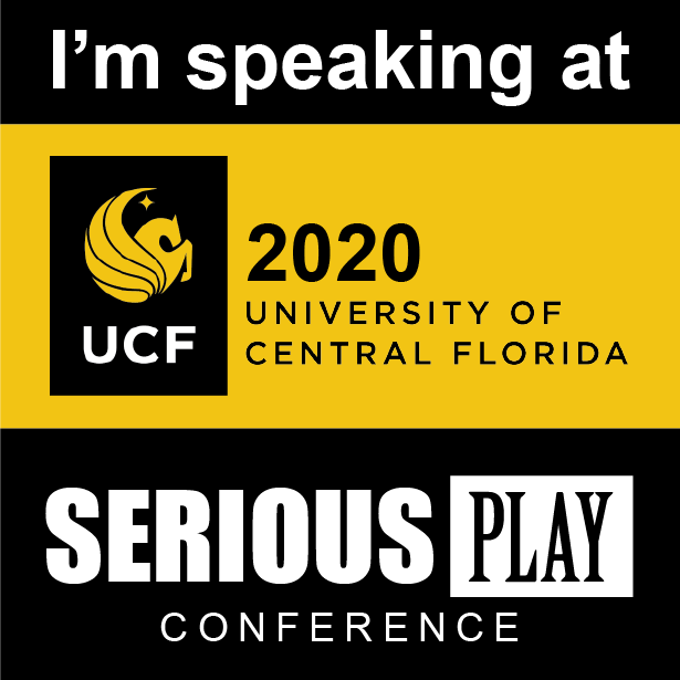 Join us in Orlando for Serious Play 2020!